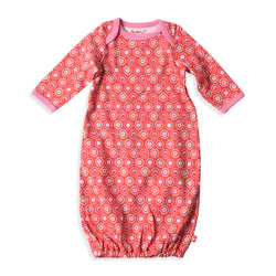 Zutano baby One Piece Apple Basket Receiving Gown
