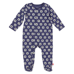 Zutano baby One Piece Bears Organic Cotton Footie