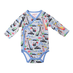 Zutano baby One Piece Big Dig L/S Body Wrap