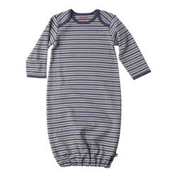 Zutano baby One Piece Bot Stripe Gown