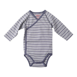 Zutano baby One Piece Bot Stripe L/S Body Wrap