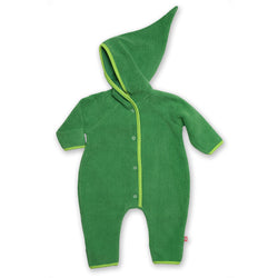 Zutano baby One Piece Cozie Elf Suit - Apple