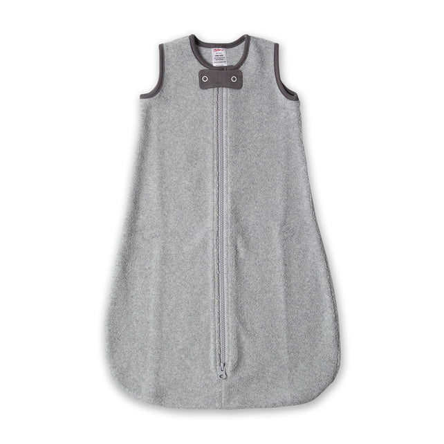 Zutano baby One Piece Cozie Snuggle Sack - Heather Gray