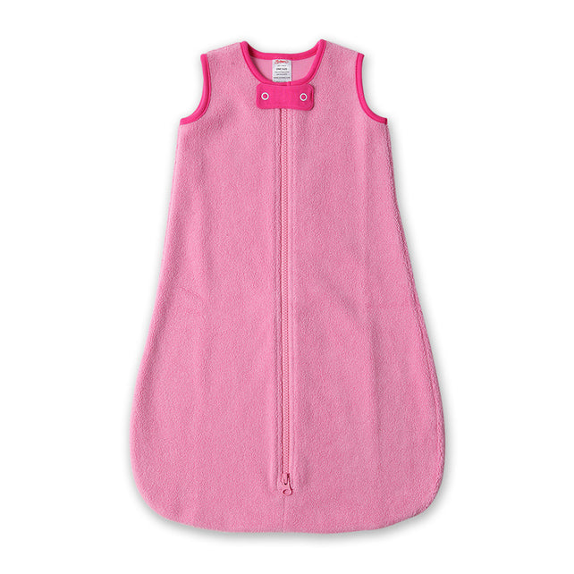 Zutano baby One Piece Cozie Snuggle Sack - Hot Pink