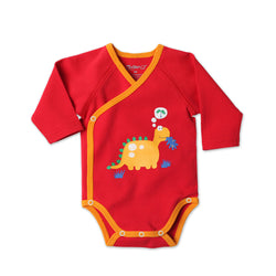 Zutano baby One Piece Dinosaur L/S Body Wrap