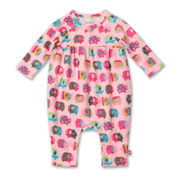 Zutano baby One Piece Elephants Romper