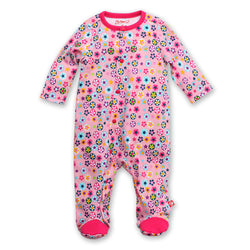 Zutano baby One Piece Flower Shower Footie