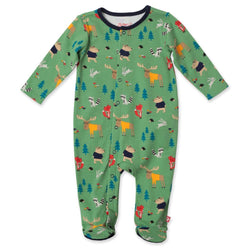 Zutano baby One Piece Forest Footie