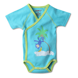 Zutano baby One Piece Hang Around S/S Body Wrap