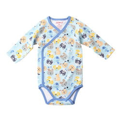 Zutano baby One Piece Happy Dog L/S Body Wrap