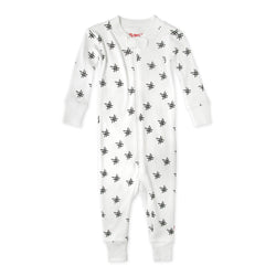 Zutano baby One Piece Hash Tag Organic Cotton Sleeper