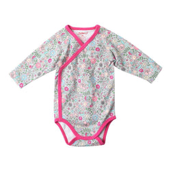 Zutano baby One Piece In The Woods L/S Body Wrap