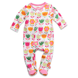 Zutano baby One Piece Linnaea Footie
