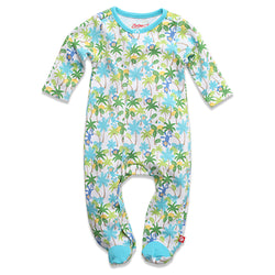 Zutano baby One Piece Monkey Jungle Footie