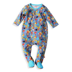 Zutano baby One Piece Playtime Footie
