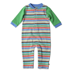 Zutano baby One Piece Stellar Stripe Play Romper