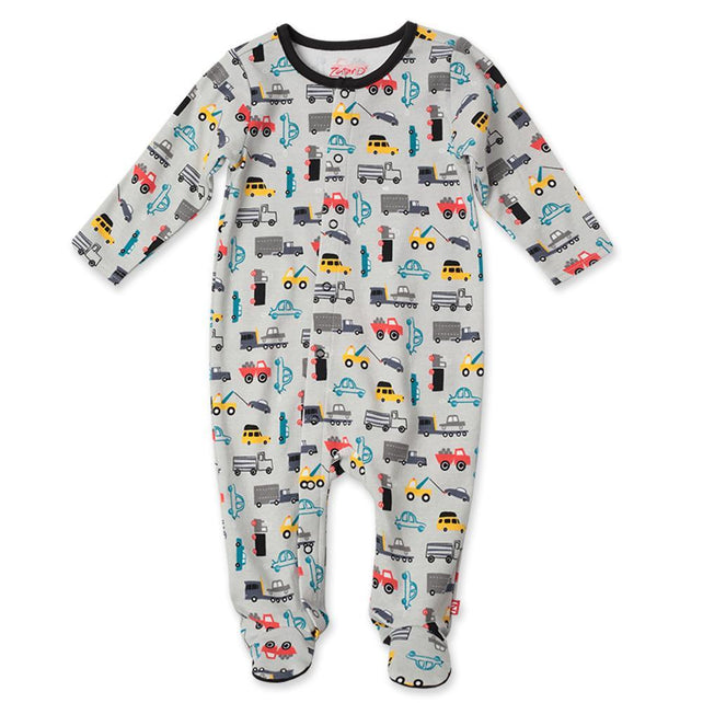 Zutano baby One Piece Traffic Footie