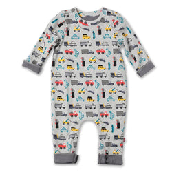 Zutano baby One Piece Traffic Snuggle Suit