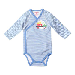Zutano baby One Piece Work Truck L/S Screen Body Wrap