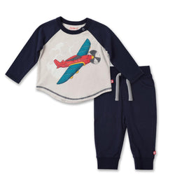 Zutano baby Set Aviation Screen Jogger Set