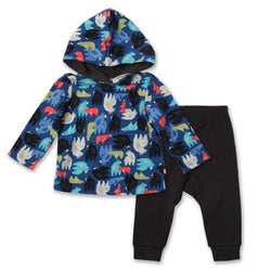 Zutano baby Set Big Bear Hoodie & Jogger Set