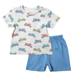 Zutano baby Set Cafe Racer Crewneck Set