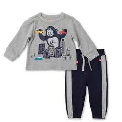 Zutano baby Set In The City Crew Neck Set