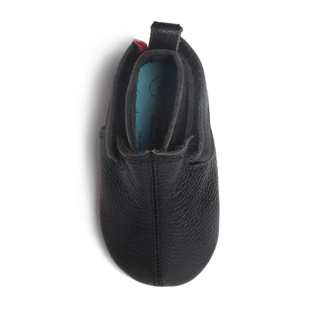 Zutano baby Shoe Black Leather Baby Shoe