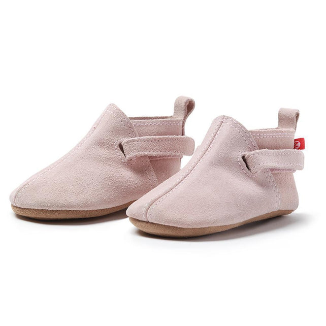 Zutano baby Shoe Dusty Pink Suede Baby Shoe