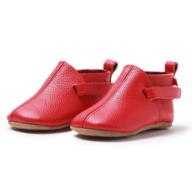 Zutano baby Shoe Red Leather Baby Shoe
