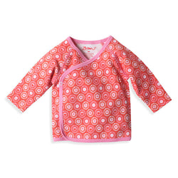 Zutano baby Top Apple Basket Kimono Top