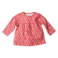 Zutano baby Top Apple Basket Peasant Top