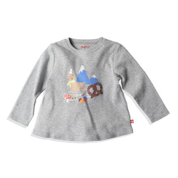 Zutano baby Top Bavarian Dream L/S Swing Tee