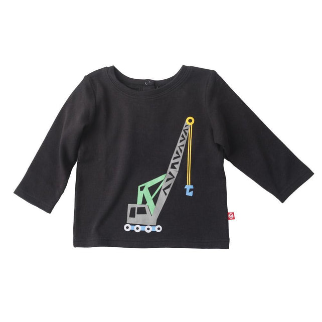 Zutano baby Top Big Rig Screen Crewneck