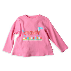 Zutano baby Top Dress Up L/S Swing Tee