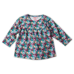 Zutano baby Top Edelweiss Peasant Top