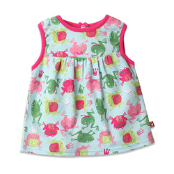 Zutano baby Top Frog Princess Sleeveless Peasant Top