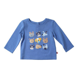 Zutano baby Top Happy Dogs Crewneck