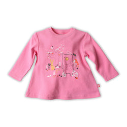 Zutano baby Top Harvest Lane L/S Swing Tee
