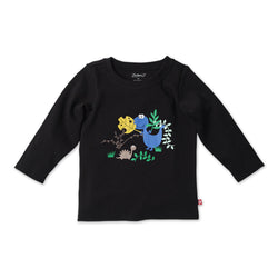 Zutano baby Top Hide N Seek L/S Screen Tee