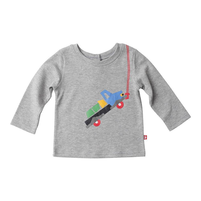 Zutano baby Top In Tow Screen Crewneck