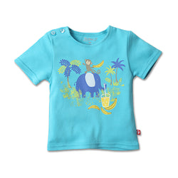 Zutano baby Top Jungle Pals S/S Screen Tee