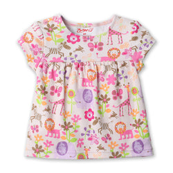 Zutano baby Top Lions Lullaby S/S Peasant Top