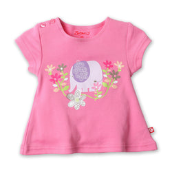 Zutano baby Top Petunia Screen Swing Tee