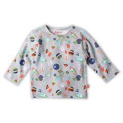 Zutano baby Top Space Kiddet L/S Shirt