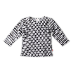 Zutano baby Top Square Dance Thermal Pullover