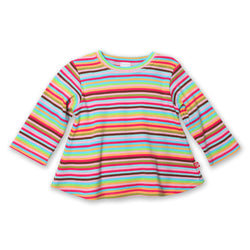 Zutano baby Top Super Stripe L/S Swing Tee