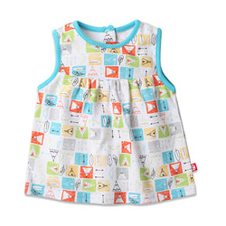 Zutano baby Top Teepee Baby Sleeveless Peasant Top