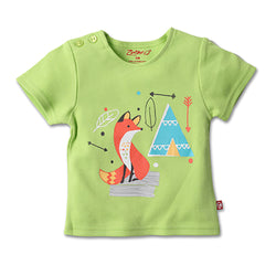 Zutano baby Top Teepee S/S Screen Tee