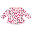 Zutano baby Top Tulip Organic Cotton Long Sleeve Peasant Top